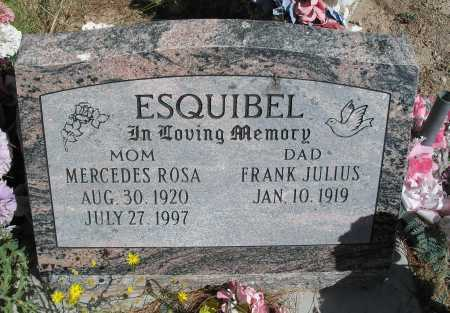 ESQUIBEL, FRANK JUILUS - Mohave County, Arizona | FRANK JUILUS ESQUIBEL - Arizona Gravestone Photos