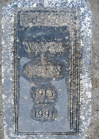 EVANS, WANDA I - Mohave County, Arizona | WANDA I EVANS - Arizona Gravestone Photos