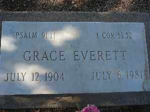 EVERETT, GRACE - Mohave County, Arizona | GRACE EVERETT - Arizona Gravestone Photos