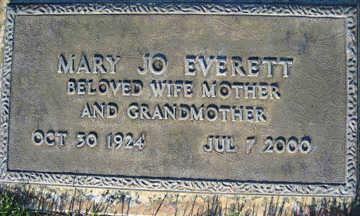 EVERETT, MARY JO - Mohave County, Arizona | MARY JO EVERETT - Arizona Gravestone Photos