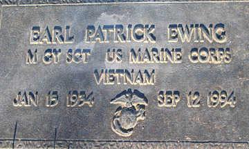 EWING, EARL PATRICK - Mohave County, Arizona | EARL PATRICK EWING - Arizona Gravestone Photos