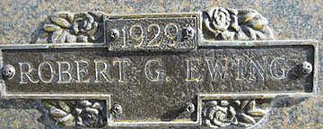 EWING, ROBERT G - Mohave County, Arizona | ROBERT G EWING - Arizona Gravestone Photos