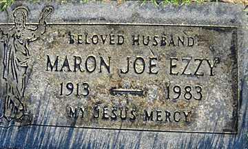 EZZY, MARON JOE - Mohave County, Arizona | MARON JOE EZZY - Arizona Gravestone Photos