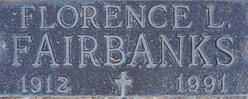 FAIRBANKS, FLORENCE L - Mohave County, Arizona | FLORENCE L FAIRBANKS - Arizona Gravestone Photos