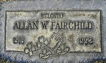 FAIRCHILD, ALLAN W - Mohave County, Arizona   ALLAN W FAIRCHILD - Arizona Gravestone Photos
