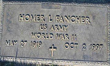 FANCHER, HOMER L - Mohave County, Arizona   HOMER L FANCHER - Arizona Gravestone Photos