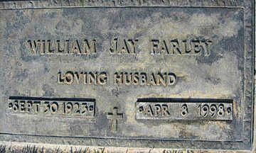 FARLEY, WILLIAM JAY - Mohave County, Arizona | WILLIAM JAY FARLEY - Arizona Gravestone Photos