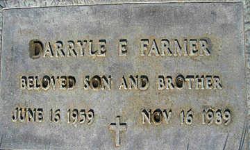 FARMER, DARRYLE E - Mohave County, Arizona | DARRYLE E FARMER - Arizona Gravestone Photos