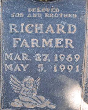 FARMER, RICHARD - Mohave County, Arizona | RICHARD FARMER - Arizona Gravestone Photos