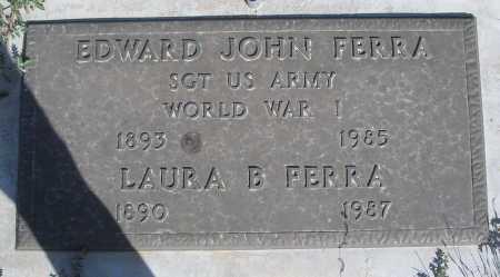 FERRA, EDWARD JOHN - Mohave County, Arizona | EDWARD JOHN FERRA - Arizona Gravestone Photos