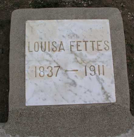 FETTES, LOUISA - Mohave County, Arizona | LOUISA FETTES - Arizona Gravestone Photos
