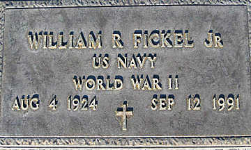 FICKEL, WILLIAM R JR. - Mohave County, Arizona | WILLIAM R JR. FICKEL - Arizona Gravestone Photos