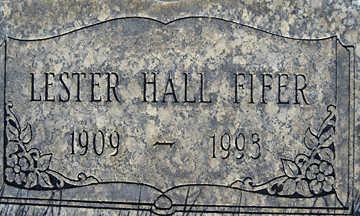 FIFER, LESTER HALL - Mohave County, Arizona | LESTER HALL FIFER - Arizona Gravestone Photos