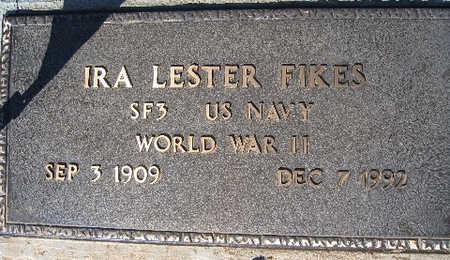 FIKES, IRA LESTER - Mohave County, Arizona | IRA LESTER FIKES - Arizona Gravestone Photos