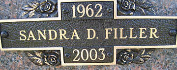 FILLER, SANDRA D - Mohave County, Arizona | SANDRA D FILLER - Arizona Gravestone Photos