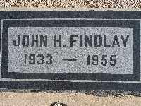 FINDLAY, JOHN HOPKINS - Mohave County, Arizona | JOHN HOPKINS FINDLAY - Arizona Gravestone Photos