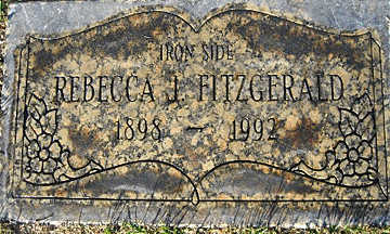 FITZGERALD, REBECCA I - Mohave County, Arizona | REBECCA I FITZGERALD - Arizona Gravestone Photos