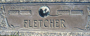 FLETCHER, EDNA - Mohave County, Arizona | EDNA FLETCHER - Arizona Gravestone Photos