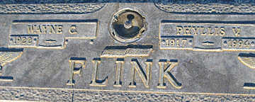 FLINK, WAYNE C - Mohave County, Arizona | WAYNE C FLINK - Arizona Gravestone Photos