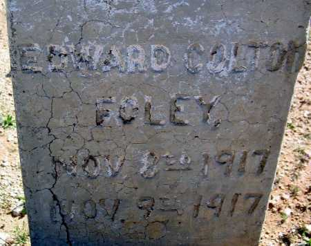 FOLEY, EDWARD COLTON - Mohave County, Arizona | EDWARD COLTON FOLEY - Arizona Gravestone Photos