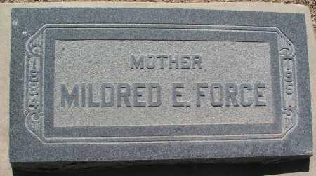 NEWTON FORCE, MILDRED E. - Mohave County, Arizona | MILDRED E. NEWTON FORCE - Arizona Gravestone Photos