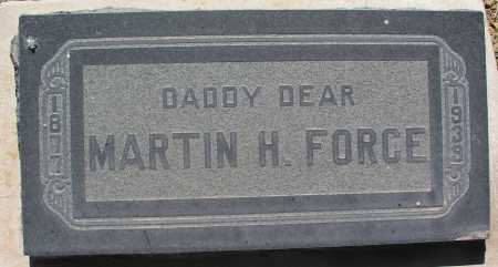 FORCE, MARTIN H. - Mohave County, Arizona | MARTIN H. FORCE - Arizona Gravestone Photos