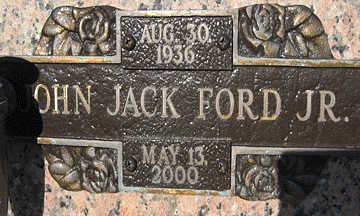 FORD, JOHN JACK JR. - Mohave County, Arizona | JOHN JACK JR. FORD - Arizona Gravestone Photos