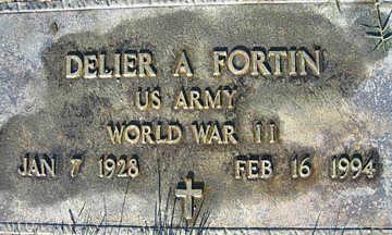 FORTIN, DELIER A - Mohave County, Arizona   DELIER A FORTIN - Arizona Gravestone Photos