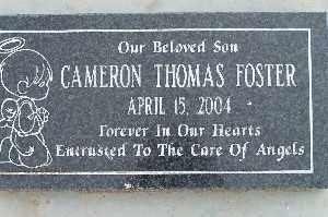FOSTER, CAMERON THOMAS - Mohave County, Arizona   CAMERON THOMAS FOSTER - Arizona Gravestone Photos