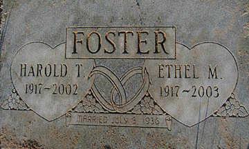 FOSTER, ETHEL M - Mohave County, Arizona | ETHEL M FOSTER - Arizona Gravestone Photos