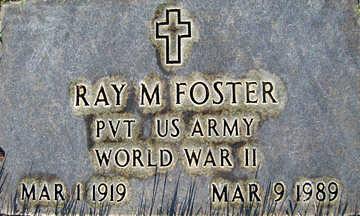 FOSTER, RAY M - Mohave County, Arizona | RAY M FOSTER - Arizona Gravestone Photos