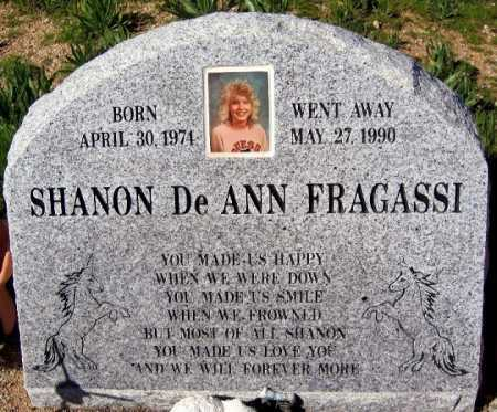 FRAGASSI, SHANON DEANN - Mohave County, Arizona | SHANON DEANN FRAGASSI - Arizona Gravestone Photos
