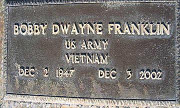 FRANKLIN, BOBBY DWAYNE - Mohave County, Arizona | BOBBY DWAYNE FRANKLIN - Arizona Gravestone Photos