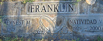 FRANKLIN, ERNEST M - Mohave County, Arizona | ERNEST M FRANKLIN - Arizona Gravestone Photos