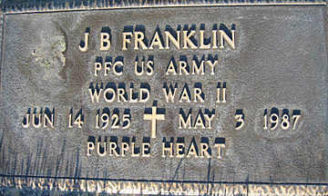 FRANKLIN, J. B. - Mohave County, Arizona | J. B. FRANKLIN - Arizona Gravestone Photos
