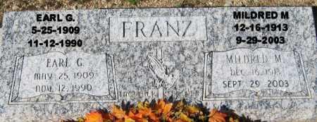 FRANZ, MILDRED M - Mohave County, Arizona | MILDRED M FRANZ - Arizona Gravestone Photos
