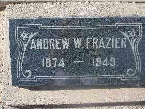 FRAZIER, ANDREW W - Mohave County, Arizona | ANDREW W FRAZIER - Arizona Gravestone Photos