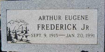 FREDERICK JR, ARTHUR EUGENE - Mohave County, Arizona | ARTHUR EUGENE FREDERICK JR - Arizona Gravestone Photos