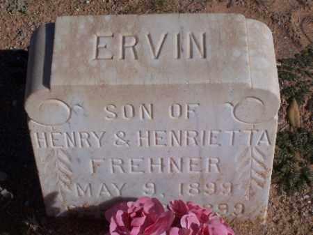 FREHNER, ERVIN - Mohave County, Arizona | ERVIN FREHNER - Arizona Gravestone Photos