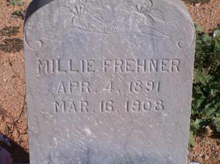 FREHNER, MILLIE - Mohave County, Arizona   MILLIE FREHNER - Arizona Gravestone Photos