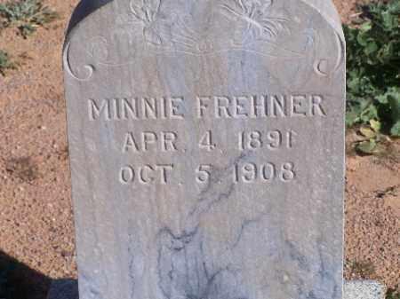 FREHNER, MINNIE - Mohave County, Arizona | MINNIE FREHNER - Arizona Gravestone Photos
