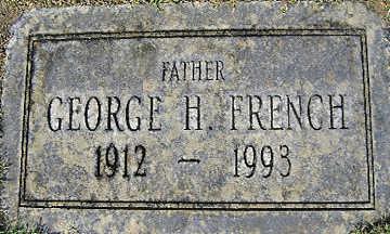 FRENCH, GEORGE H - Mohave County, Arizona | GEORGE H FRENCH - Arizona Gravestone Photos