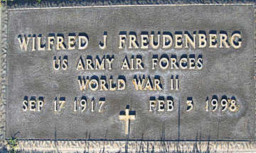 FREUDENBERG, WILFRED J - Mohave County, Arizona | WILFRED J FREUDENBERG - Arizona Gravestone Photos