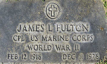 FULTON, JAMES LEE - Mohave County, Arizona | JAMES LEE FULTON - Arizona Gravestone Photos