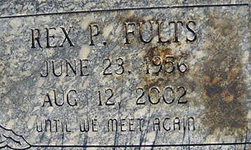 FULTS, REX P - Mohave County, Arizona | REX P FULTS - Arizona Gravestone Photos