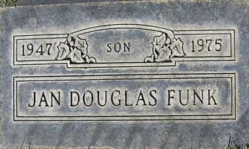 FUNK, JAN DOUGLAS - Mohave County, Arizona | JAN DOUGLAS FUNK - Arizona Gravestone Photos