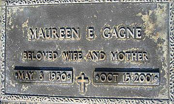 GAGNE, MAUREEN E - Mohave County, Arizona | MAUREEN E GAGNE - Arizona Gravestone Photos