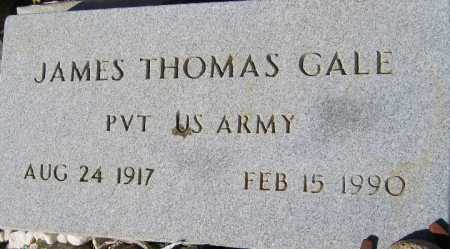 GALE, JAMES THOMAS - Mohave County, Arizona | JAMES THOMAS GALE - Arizona Gravestone Photos