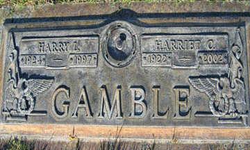 GAMBLE, HARRIET C - Mohave County, Arizona   HARRIET C GAMBLE - Arizona Gravestone Photos