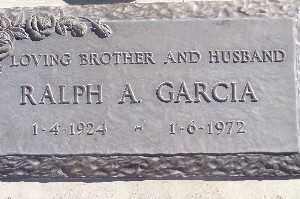GARCIA, RALPH A - Mohave County, Arizona | RALPH A GARCIA - Arizona Gravestone Photos